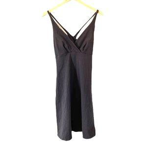 Patagonia Tank Dress Organic Cotton Dark Gray M